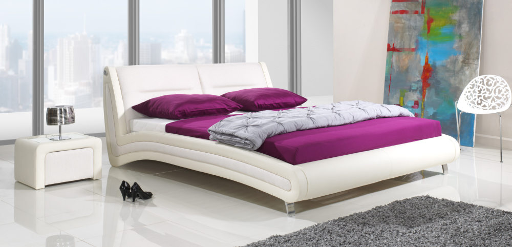 łóżka Tapicerowane Bez Pojemnika Atm świat Sypialni